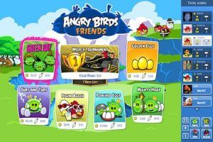Angry Birds Friends Niveles