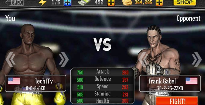 Hack Punch Boxing 3D Cheat |  Energy - Coins Unlimited
