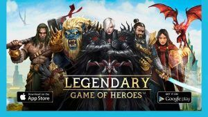 Jeu Legendary of Heroes