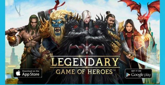 Hack Legendary Game of Heroes Cheat | Gold - Gems Unlimited