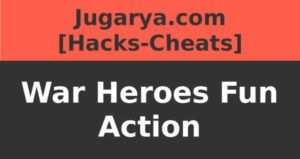 hack war heroes fun action cheat gems cards