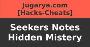 hack seekers notes hidden mistery cheat rubies