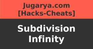 hack subdivision infinity cheat resources gold