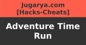 hack adventure time run cheat diamonds gold