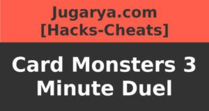 hack card monsters 3 minute duel cheat gems coins