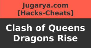 hack clash of queens dragons rise cheat gold food