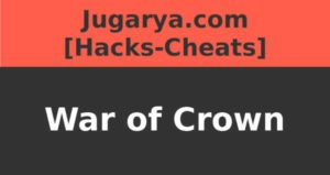 hack war of crown cheat garnets powerups