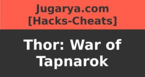 hack thor war of tapnarok cheat gemas